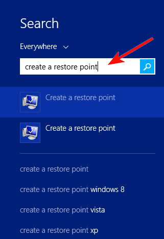 how to delete previous saved points of windows